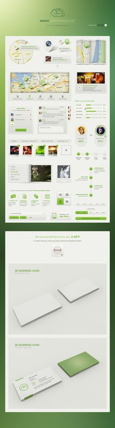 (04) Menson UI full Set for $19 http://vandelaypremier.com/psd-files/menso-ui-set-light/
