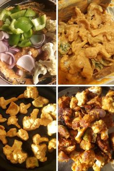 Cauliflower tikka masala or gobi tikka masala is a rich and creamy curry. Read how to make gobi tikka masala and with it's vegan version. Vegan Tikka Masala, Tikka Masala Sauce, Paneer Tikka, Authentic Indian Curry Recipe, Gobi Recipes, Tandoori Roti, Tikka Recipe, Aloo Gobi, Veggie Fries