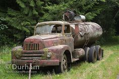 abandoned tanker truck by Michael Durham, via Flickr