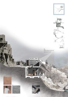 Presidents Medals: The Bridge of Alchemy, Atlas Mountains, Morocco by bessie Architecture Panel, Architecture Graphics, Architecture Portfolio, Architecture Drawings, Landscape Architecture, Architecture Design, Architecture Presentation Board, Presentation Layout, Presentation Boards