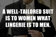 Guess I'm Getting Me A Well-Tailored Suit!