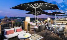 Terraza Twenty One, con vistas a la ciudad #h10 #h10hotels #barcelona #hotelbarcelona #h10universitat