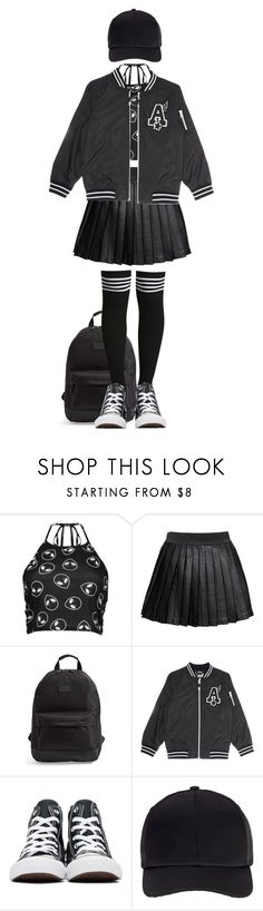 """Bring Your A-Game"" by olivia-pullman ❤ liked on Polyvore featuring Boohoo, Alice In The Eve, Rip Curl, Converse and Miss Selfridge"