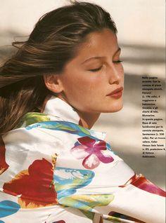 Laetitia Casta by Sacha van Dorssen For Elle Magazine Italy | May 1996