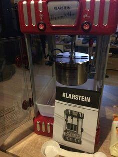 Popcorn-Maschine Volcano von KLARSTEIN | jogi-testet.de
