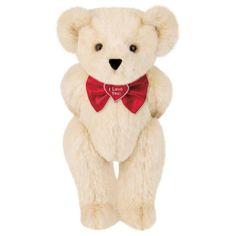 "15"" ""I Love You"" Bowtie Teddy Bear"