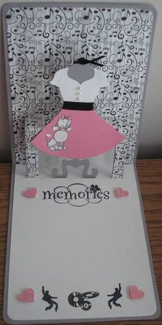 Dressed Up for the 50s - Inside by Nan Cees - Cards and Paper Crafts at Splitcoaststampers