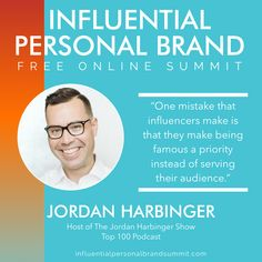 """""""Be an advocate for the audience that is listening to you and you will grow that audience.""""  Jordan Harbinger is a Wall Street lawyer turned interview talk-show host, and a communications and social dynamics expert. He has hosted a Top 50 iTunes podcast for over 12 years and receives over five million downloads per month, making The Jordan Harbinger Show one of the most popular podcasts in the world. Kevin Harrington, Miss Nevada, Building A Personal Brand, Senior Advisor, Radio Personality, Brand Strategist, Les Brown, Keynote Speakers, Instagram Influencer"""