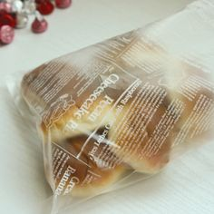 Cute plastic bag for gifts.  Gift wrap idea.    korean packaging design.  http://www.morecozy.com/