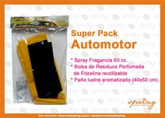 Super Pack Automotor 3 productos