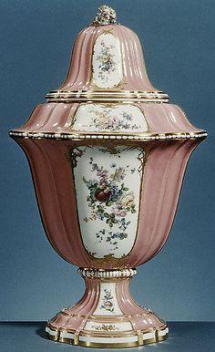 Vase ; (1 of Set)  Sèvres Manufactory  Date: 1757–58