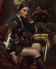 TatiTati Style - THE ART OF FASHION: Baroque Beauties