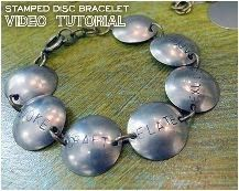 How To Make Metal Stamped Jewelry Tutorials ~ The Beading Gem's Journal