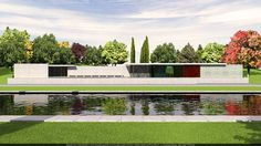 pabellon nacional de alemania | Fue diseñado por Ludwig Mies van der Rohe como pabellón nacional de ...