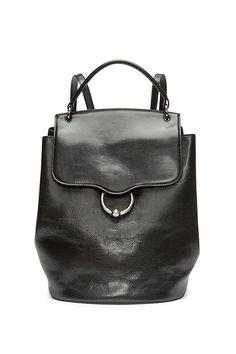 976b1a732500 Kate Flap Backpack – Rebecca Minkoff Black Backpack
