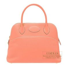 Hermes Bolide Bag 31 Crevette Clemence Leather Gold Hardware from Discountpluss for $13,500.00 on Square Market