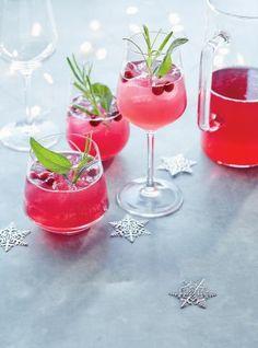 Mocktail au shrub canneberges-framboises | RICARDO