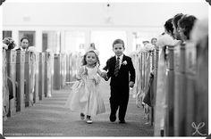 flower girl, ring bearer, church wedding, our lady of mount carmel, ct wedding photographers, ny wedding photographers, film photographers