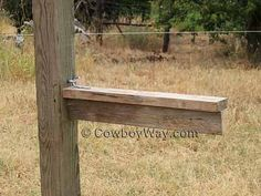 Make A Collapsible, Portable, Wood Saddle Rack
