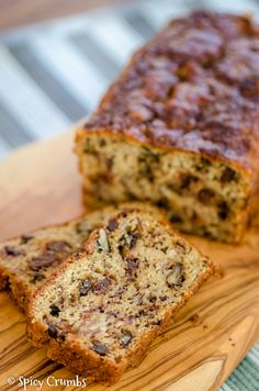 Banana Bread, Spicy, Low Carb, Desserts, Food, Fitness, Diet, Tailgate Desserts, Deserts