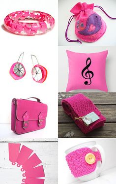 PINK GIFT LIST by ALL THIS WOOD on Etsy--Pinned with TreasuryPin.com