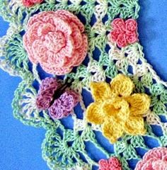 Several years ago I designed a set of doilies for Annie's Attic called 'Vintage Floral Doilies.' The publishing rights have now reverted b...