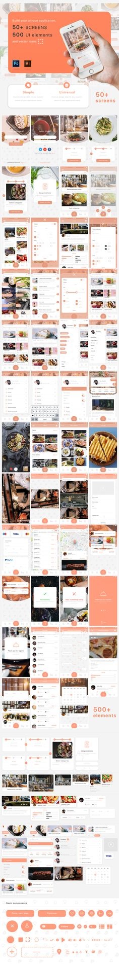 """Check out this @Behance project: """"Mobile App UI kit"""" https://www.behance.net/gallery/49212407/Mobile-App-UI-kit"""