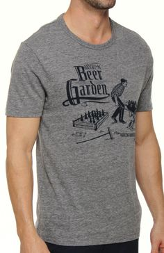 Original Penguin Crewneck Beer Garden Graphic Tee FSK0269...I think I have a hubby who needs this!