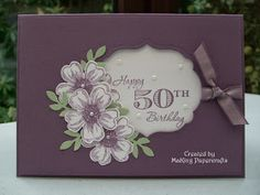 MaKing Papercrafts: 50th Birthday