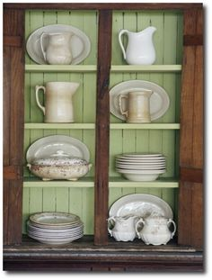 Painting Inside Your China Cabinets- Antiques dealer Jim Williams