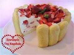 ΣΥΝΤΑΓΕΣ ΤΗΣ ΚΑΡΔΙΑΣ: Σαρλότ με φράουλες Menu, Sweets, Desserts, Blog, Menu Board Design, Tailgate Desserts, Deserts, Gummi Candy, Candy