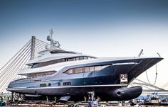 Last week the Polish shipyard Conrad Yachts launched their brand new 40m flagship superyacht Viatoris. Read everything about this project…