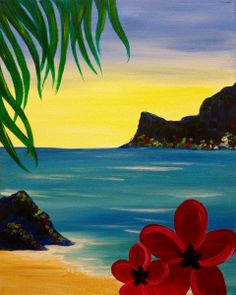PINOT'S PALETTE. ALAMEDA. PAINT. DRINK. HAVE FUN. Paint Aloha! Thursday October 1 at 7pm