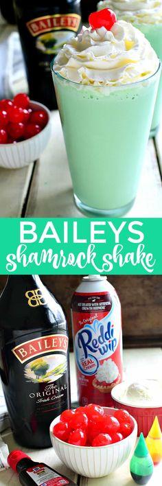 Baileys Shamrock Shake