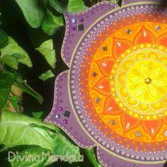 20 ♥ - 27cm de Mandala Disponível para pronta entrega!
