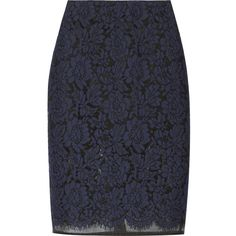 Lace and organza pencil skirt (220 CAD) ❤ liked on Polyvore featuring skirts, bottoms, pencil skirts, faldas, msgm, organza skirt, pencil skirt, lace pencil skirt, msgm skirt and lace skirt
