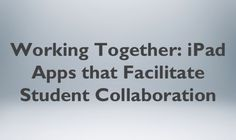 ipad apps for collaboration