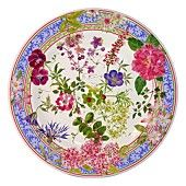 "Gien France ""Mille Fleur"" Dessert Plate"