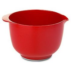 Rosti Margrethe Mixing Bowl - Melamine - 2 L - Red * Startling review available here at : Baking mixing bowls