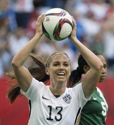 Alex Morgan helps the U.S. attack create more chances, if not score more goals.