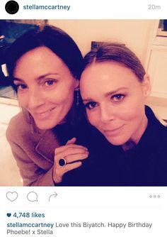 "When Stella McCartney called Phoebe Philo a ""biyatch"". #awesome : )"
