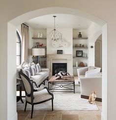 Off-White with Eclectic Accents - ELLEDecor.com