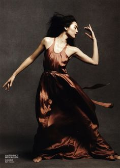 """""""Dancing in the Soul"""": Liu Wen, Ming Xi, Sui He & NYC Ballet's Justin Peck by Daniel Jackson for Vogue China"""