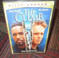 THE CLIMB DVD BY BILLY GRAHAM, EXCITING, INSPIRING & ENTERTAINING, ICE CLIMBERS