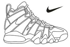 Nike air max printable coloring pages - Enjoy Coloring