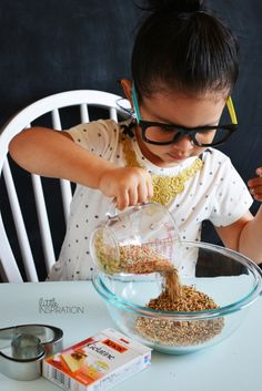 Spring Kid Craft: Birdseed!