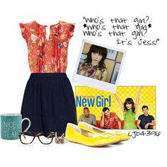 """""""'New Girl' Inspired Outfit"""" by cjb4396 on Polyvore"""