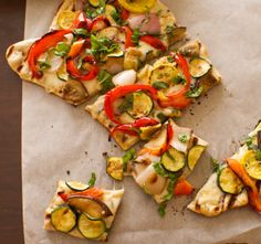 <3 Grilled Vegetable And Fontina Pizza | Favorite Recipes