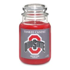Yankee Candle® Ohio State University Large Jar Fan Candle - BedBathandBeyond.com