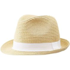 Charlotte Russe Grosgrain Band Straw Fedora ($13) ❤ liked on Polyvore featuring accessories, hats, natural, straw fedora, fedora hat, band hats, charlotte russe hats and straw hat